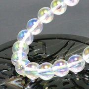 <虹>レインボーオーラ水晶(8mm)ブレスレット