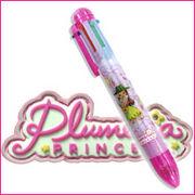 リトルフラガール・プルメリア・プリンセス6色ボールペン!ハワイで人気のキャラクター