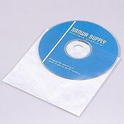 FCD-F100 サンワサプライ CD・CD-R用不織布ケース 100枚セット