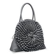 Ruffled Rosette Tote Bag(トートバッグ)