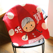 Shinzi katoh Design Blanket Red hood dots