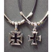 メンズチョーカー・アイアンクロス2サイズ・鉄十字・十字架
