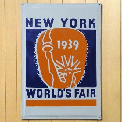 ホーロー看板 NEWYORK1939