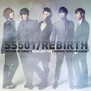 韓国音楽 SS501 Mini Album /Rebirth (一般版)