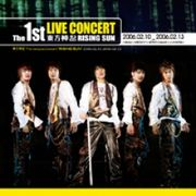 韓国音楽 東方神起 / 1st Live Concert Album:Rising Sun