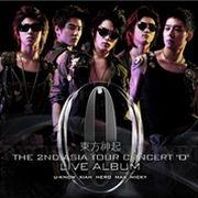 韓国音楽  東方神起/The 2nd ASIA TOUR CONCERT 'O' (Live アルバム) (2CD)