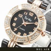 【レディース仕様】★ゴールドホワイ レディース腕時計 OSD42【保証書付】
