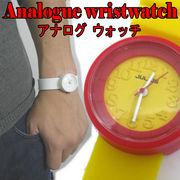【3色】アナログ腕時計/Analogue wristwatch☆カラーウォッチ