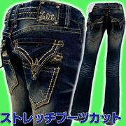 ロリータジーンズ(LOLITA JEANS)#1034ソフトブーツカットスタイル★ストレッチのきいた最新商品★美脚/小尻
