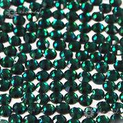【ネイル業務用】ネイルに最適なガラスストーン 約1440粒パック エメラルドグリーン 1.8~3mm 格安☆