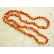 珊瑚(染色) ロング ネックレス 【2000022】