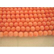 珊瑚(染色) 連販売 ラウンド 約3.5mm