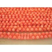 珊瑚(染色) 連販売 ピーナッツ型 約9×4mm