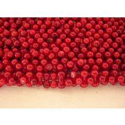 珊瑚(染色) 連販売 ラウンド 約5~5.5mm