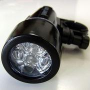懐中電灯にもなる☆自転車用LEDライト【Power Beam】全2色