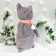 【ポケットに手を入れたポーズが可愛い】寒がり猫のニッキー