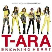 韓国音楽 T-ara(ティアラ)1集 Repackage/Breaking Heart(一般版)