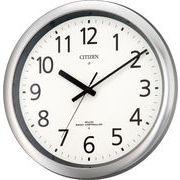【新品取寄せ品】シチズン電波掛時計「パルウェーブM437」8MY437-019