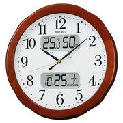 【新品取寄せ品】セイコークロック 電波掛時計 KX369B