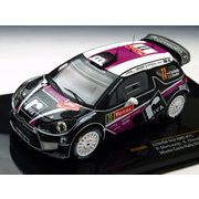 ixo/イクソ シトロエン DS3 WRC 2012 ラリー モンテカルロ #11 ドライバー:P.Merksteijn/E.Chevalier