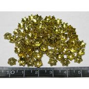 チベタン 座金 シースター 金古美 約6mm【100個セット】