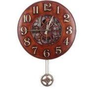 アドニスヌードクロックアラビア(大)振り子時計/インテリア 掛け時計/電波時計