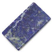天然石ラピスラズリ/瑠璃石 スクエア型板ルース  アクセサリーパーツt710