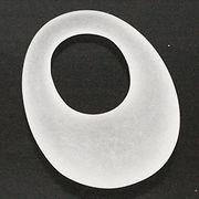 天然石 パワーストーン / 水晶・クリスタルクォーツ オーバル