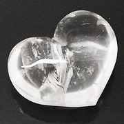 天然石 パワーストーン / 水晶・クリスタルクォーツ ハートモチーフ