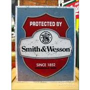 アメリカンブリキ看板 S&W/スミス&ウェッソン 保護