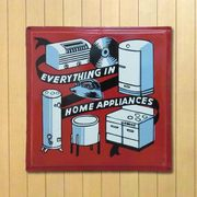 ホーロー看板 HOME APPLIANCES