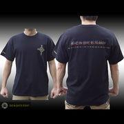 【DESPERADO】デスペラード RAINBOWロゴ TシャツBK
