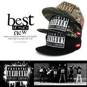 【PARENTAL ADVISORY・アドバイザリ】ニューエラ風 キャップ スナップバッグcap 帽子 5点セット