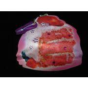 【Kawaiiポーチ】ピンクショートケーキ
