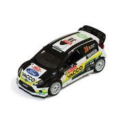 ixo/イクソ フォード フィエスタ RS WRC 2012年 ラリー モンテカルロ #38 J.Maurin/O.Ural