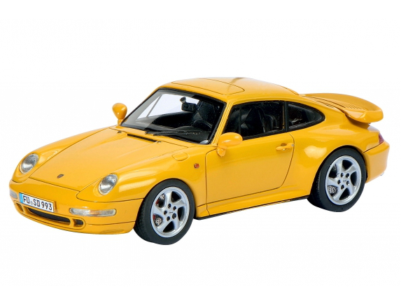 Schuco/シュコー ポルシェ 911 (993) ターボ スピードイエロー