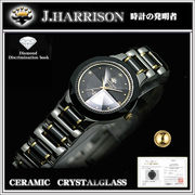 J.HARRISON腕時計 JH-CCL-001BB 女性用腕時計