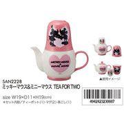 【ディズニー】ミッキーマウス&ミニーマウス TEA FOR TWO