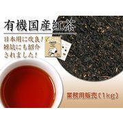 【業務用販売】ティーバッグ【有機国産紅茶】優しい香りと本格的な味わい!100包