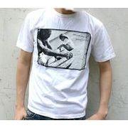 MEI/エムイーアイ ヘンプ混生地 限定プリントTシャツ
