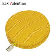 【在庫限り】Izax Valention 風水開運ワニ革調ラウンドコインケース