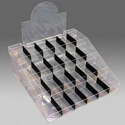 【店舗備品】汎用升目箱(階段) アクリル44×42.5cm ※ネコポス不可※