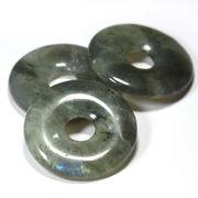 【置き石】ドーナツ型 (ピーディスク) 35mm ラブラドライト (ST)