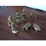 ミニ仏像、カエルなど各種真鍮