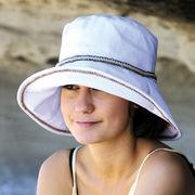 UVカット帽子 - レディース ハット- ライフスタイル ハット ホワイト