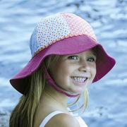 UVカット帽子 - キッズ ハット -  トドラー サウスウェスター レインボー サイズ:43/46/49/52cm