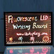 光る看板 Sサイズ 350×250 ライティングボード 光る看板 メッセージボード 手書き看板
