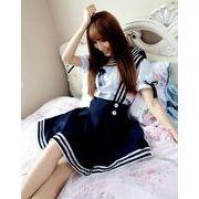 【即納】サスペンダースカート女子高生服 学生服 コスプレ コスチューム
