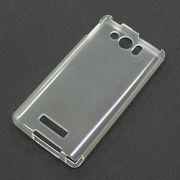 【303SH/TPU】softbank AQUOS PHONE Xx mini(アクオスフォンXxミニ) クリア (乳白色)ソフトタイプ素材