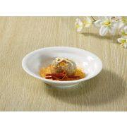 【強化】 中華皿(19cm)  おうち料亭/中華丼/麺鉢/冷麺丼/ざるそば/冷やし中華/白食器